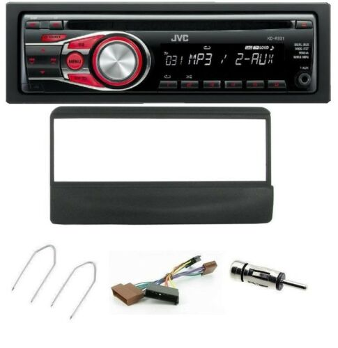 JVC Reproductor de CD AUX para Ford Focus 1998-2004 y kit de montaje