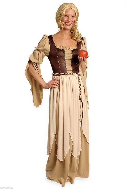 Freifrau Magd Markt Frei Frau Bäuerin Wirtin Burg Handels Kostüm Kleid Burgdame | Sale Online