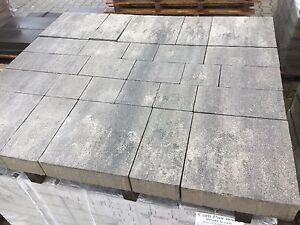 Pflastersteine Steine Grau Schwarz Anthrazit Mehrere Formate Beton