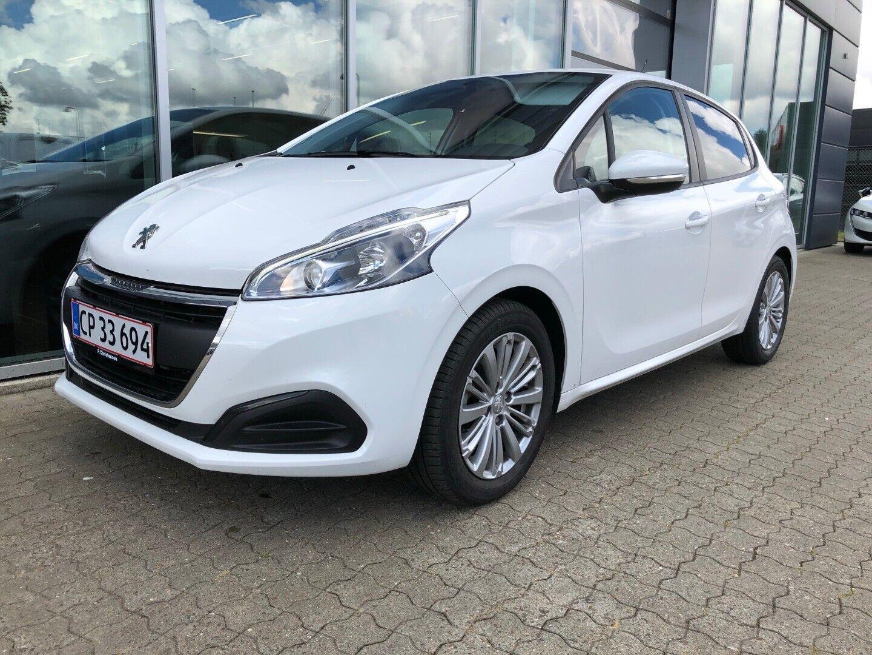 Peugeot 208 1,2 PT 82 Like+ 5d - 128.900 kr.