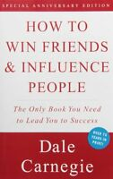 How To Win Friends And Influence People By Dale Carnegie, (paperback), Pocket Bo on sale