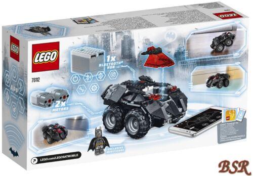 LEGO ® 76112 App-Contrôlé Batmobile /& NOUVEAU /& NEUF dans sa boîte /& 0 € expédition!