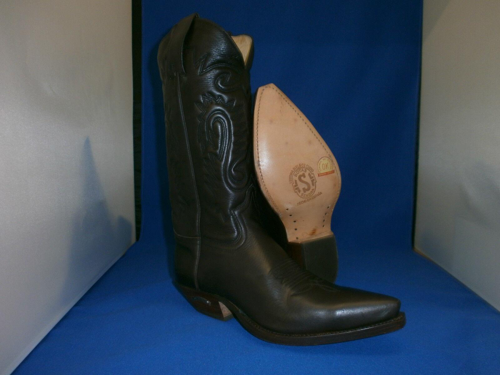 Sendra Boots cowboystiefel westernstiefel neu handmade brown cowboyboots  gr. 43