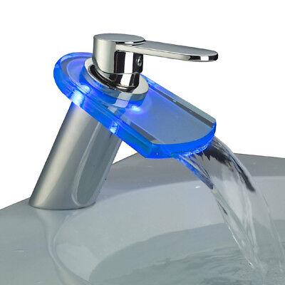 LED Waschtisch ArmaturMischarmatur BadarmaturEinhebelmischer Wasserhahn