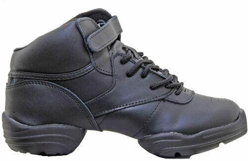 Capezio Noir Dansneaker Taille 1-12 UK