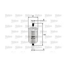 VALEO Fuel filter 587001