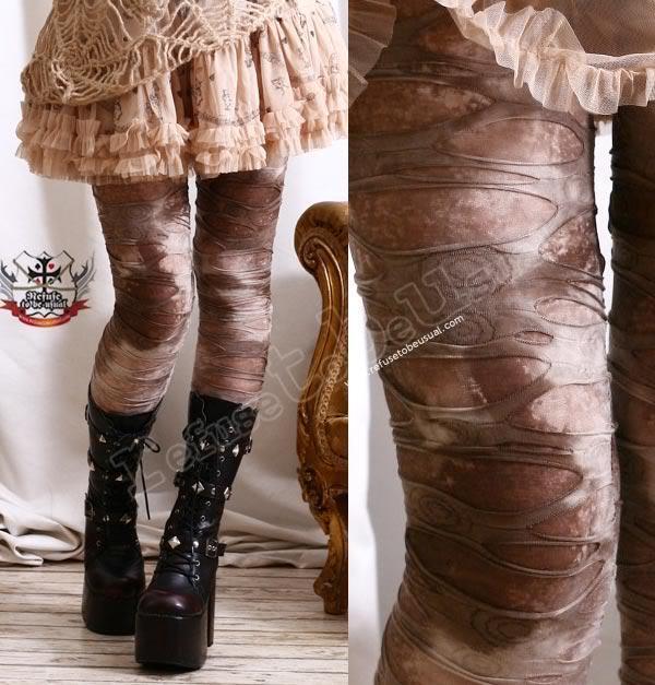 851b324a1f3179 Egypt Mummy Decay Ragged Hole Legging Mud Rock Canyon Steampunk LARP S M L  XL | eBay