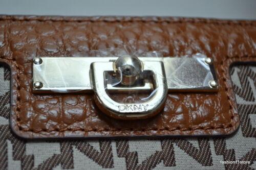 DKNY BEEKMAN T/&C W//French Grain Leather Bag Bolsa Sac Väska Handtasche Сумка NWT