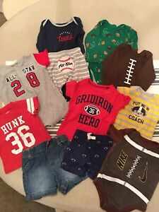 Baby Boy Newborn Infant 3 Months Mixed Clothes Lot 11 Pieces Outfits Sports Ebay