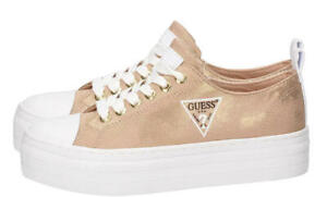 Zapatos-de-Mujer-Guess-Governor-Active-Lady-Tejido-Oro-FL6BRSFAB12GOLD-38