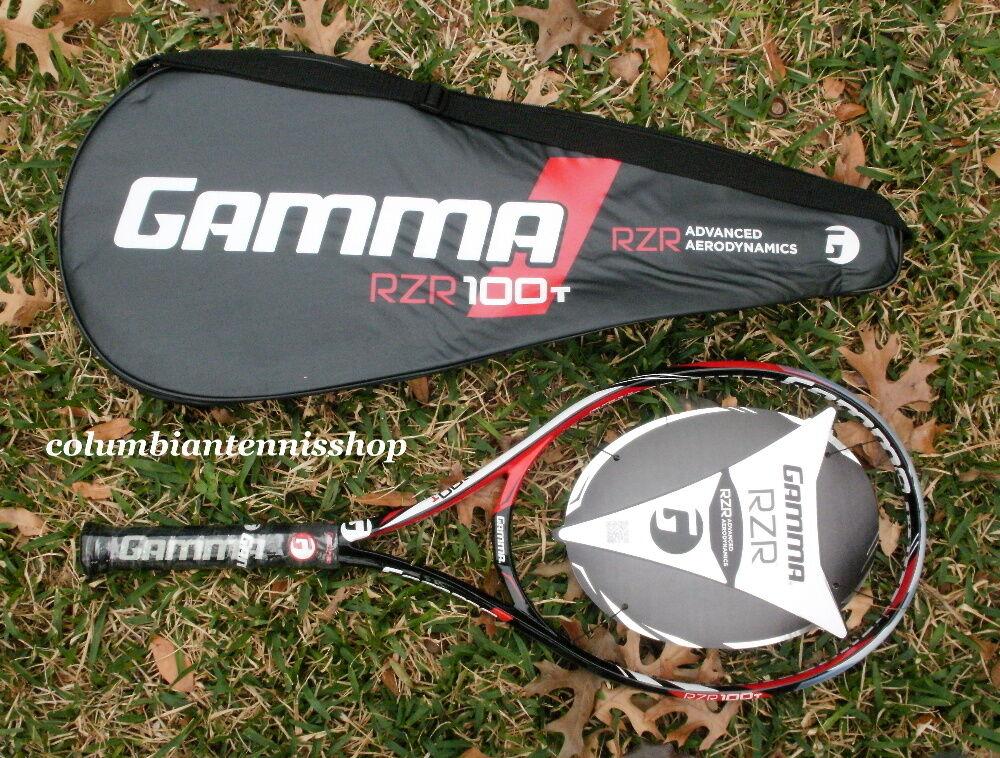Neuf GAMMA RZR 100 T Raquette de tennis Original PDSF  199.99