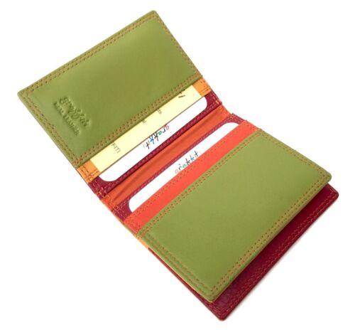 Quality Leather Credit Card Holder 114 RFID Golunski RFID Safe Graffiti