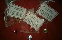 My Last Rolo Valentines Day Novelty Gift Poem For Him/Her Laminated Card & Bag