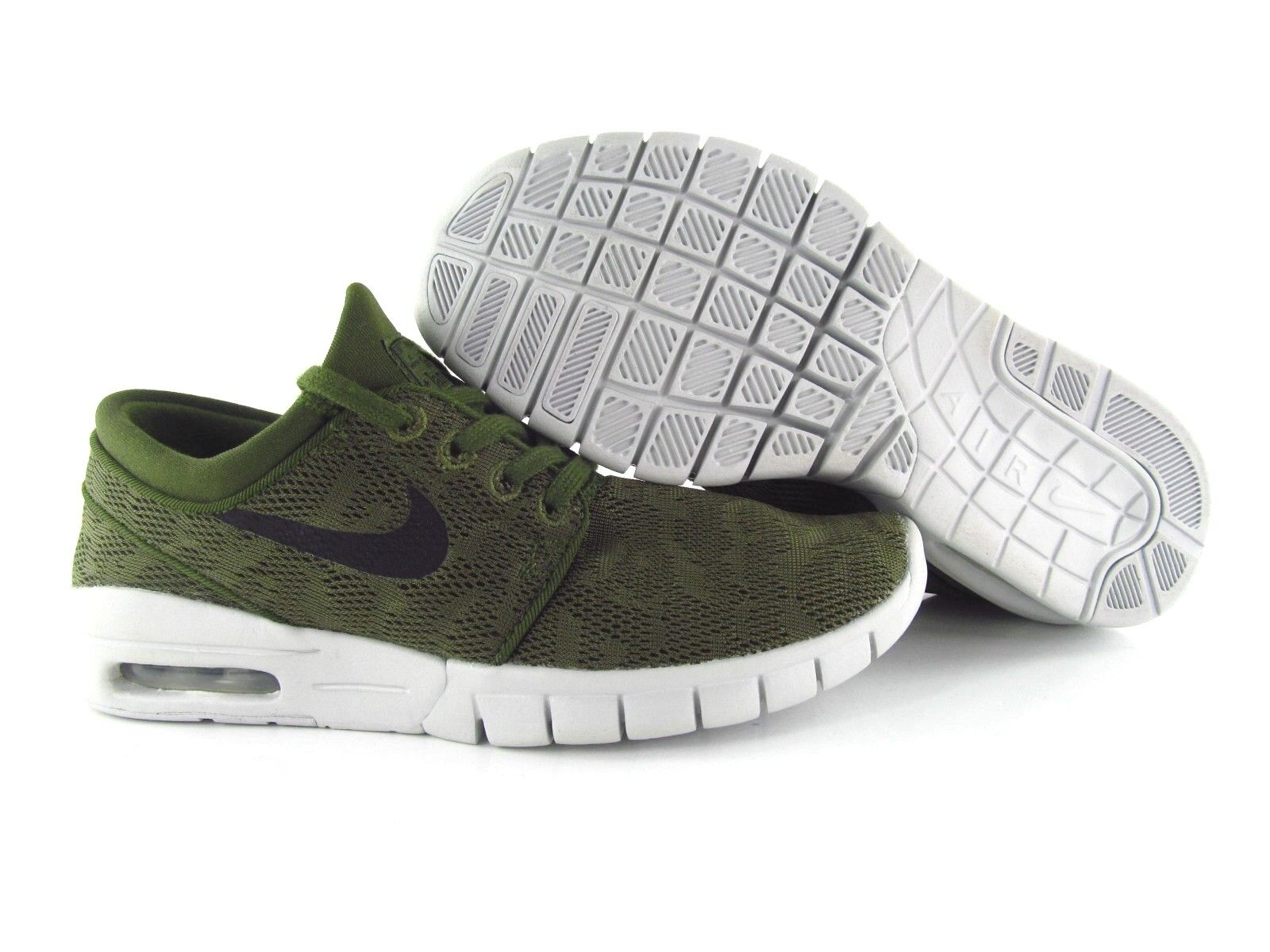 Nike SB Stefan Janoski Max Army Green UK_4 US_4.5 Eur 36.5
