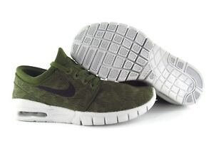 Details zu Nike SB Stefan Janoski Max Army Green UK_4 US_4.5 Eur 36.5