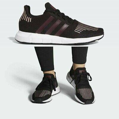 Adidas Originals Swift Run Women's Running Shoes FU7769 Maroon Casual Sneakers | eBay