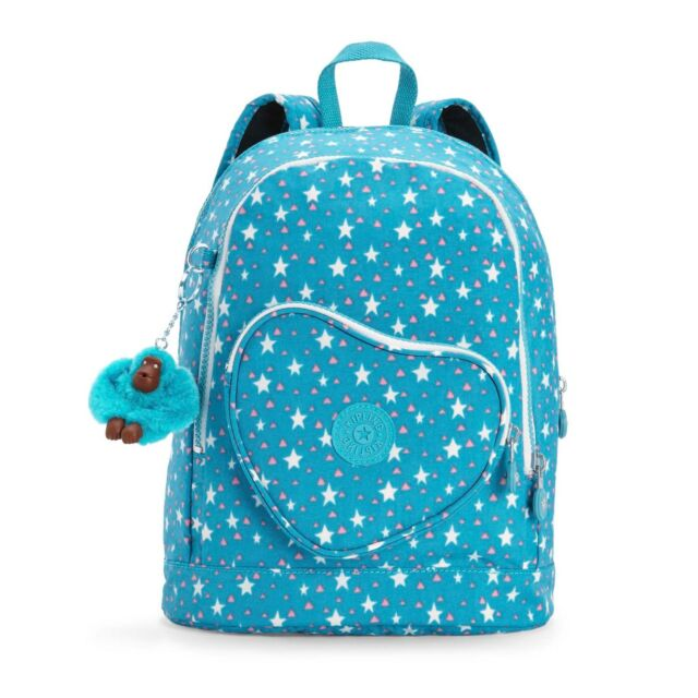 Kipling HEART Childs/Toddler Backpack COOL STAR GIRL - FW18 - RRP £69