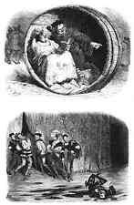 Gustave Dore gigantón Pantagruel 096 A4 Foto impresión