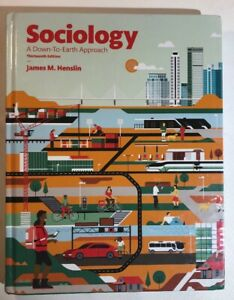 Sociology-A-down-To-Earth-Approach-by-James-M-Henslin-2016-Hardcover-US
