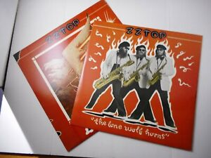 ZZ TOP RECORD LP ' Deguello ' with inner sleeve