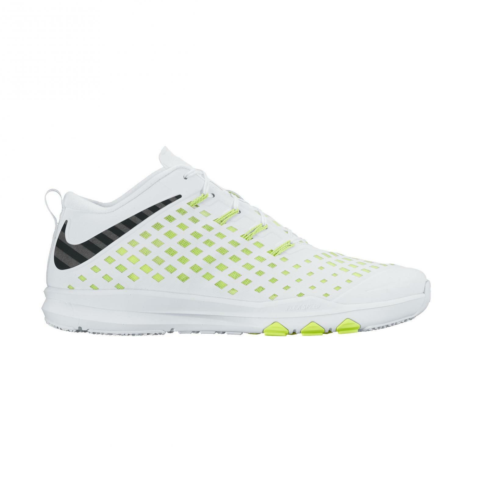 Mens NIKE TRAIN QUICK White Training Trainers 844406 107
