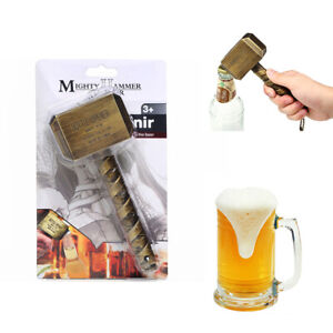 Marvel-Thor-039-s-Hammer-BOTTLE-OPENER-Decorative-Wine-Opener-Bar-Dinner-Memorable