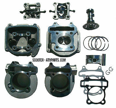 170cc Big Bore Kit 61mm FOR CHINESE SCOOTERS WITH 150cc GY6 157QMJ