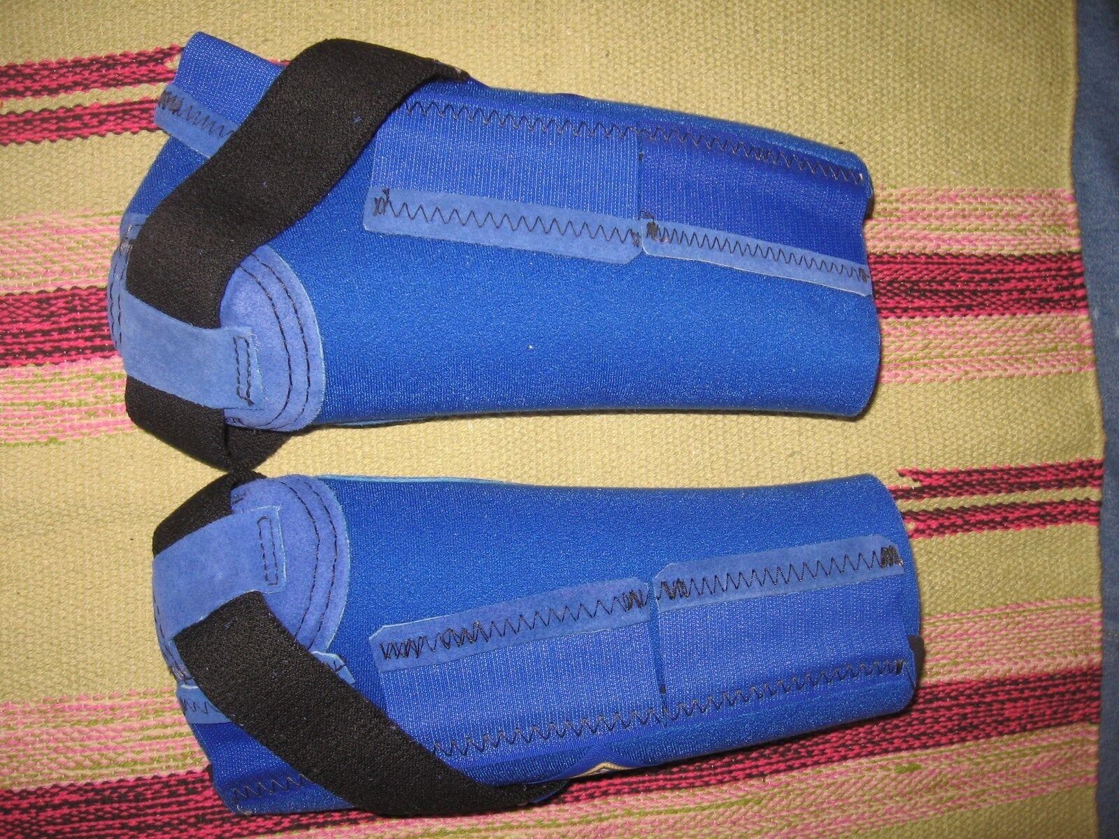 Nuevo Par Bar F productos Azul M-Pact Caballo Stealth botas medio frontal B-715