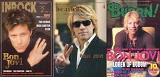 Jon Bon Jovi on COVER LOT of 3 Japan Magazines RARE!