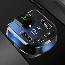 Bluetooth LCD Wireless Car MP3 FM Transmitter Radio USB Charger Handsfree Kit UK