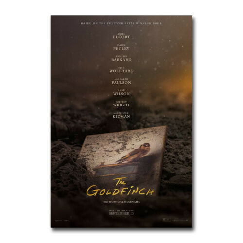 The Goldfinch Movie 2019 Art Silk Canvas Poster Wall Home Decor Print 24x36 inch