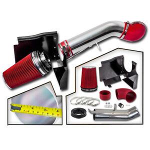 COLD-AIR-INTAKE-RED-FILTER-FIT-99-06-Silverado-2500-HD-3500-V8-5-3L-6-0L