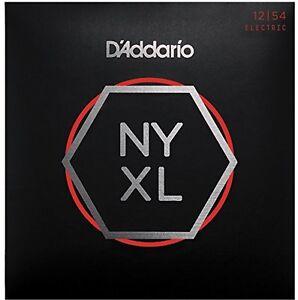 D-039-Addario-NYXL1254-Nickel-Wound-Cordes-pour-guitare-electrique-Lourdes-12-54