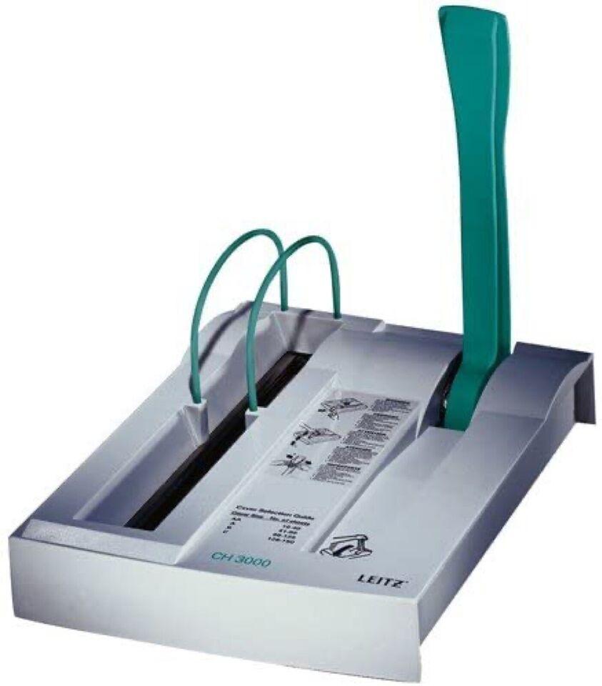 Fuldstændig ubrugt maskine til bogindbinding. L...
