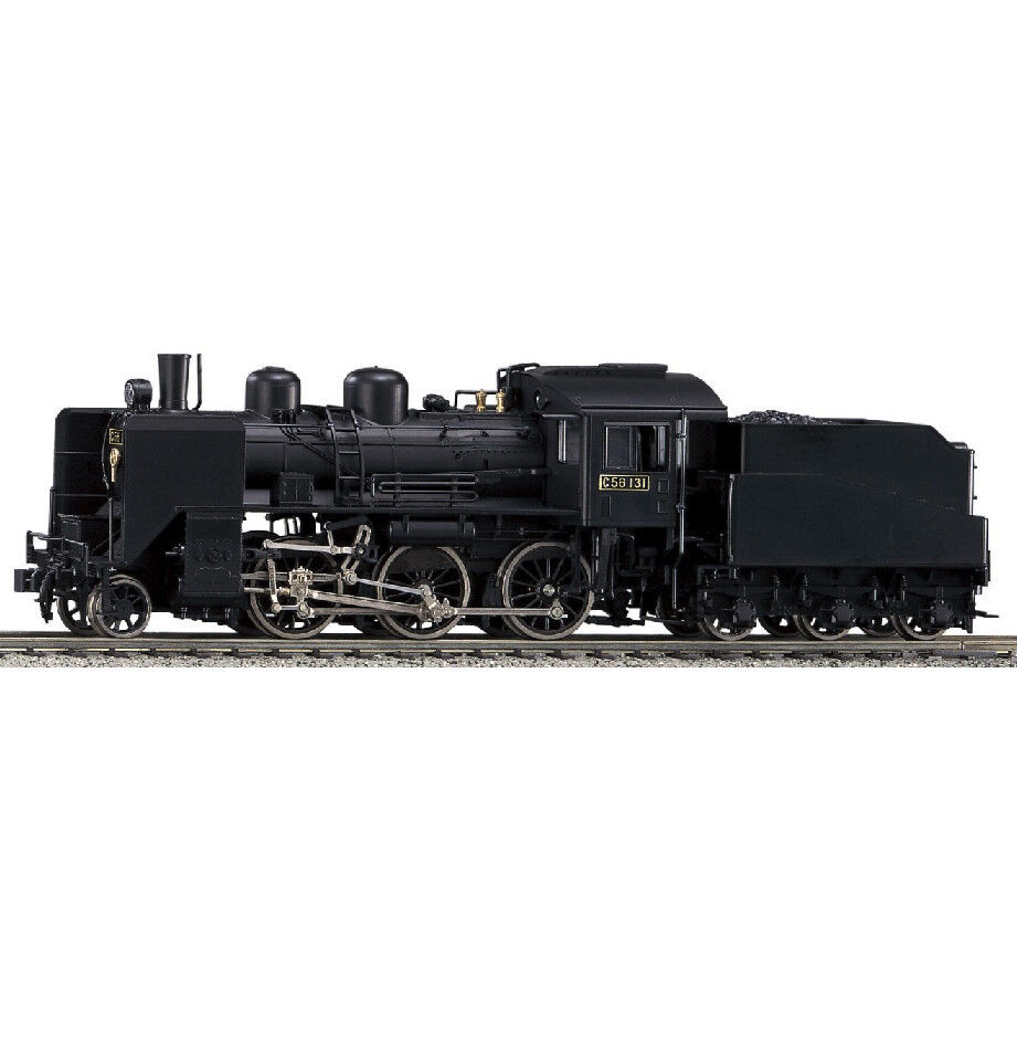 Kato 1-201 Steam Locomotive 2-6-0 C56 - HO