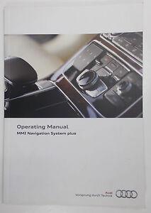nuove originali audi mmi sistema di navigazione plus manuale manuale rh ebay it Porsche Navigation Audi B7 RNS-E Wiring