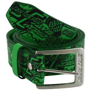 SANTA-CRUZ-OGSC-Skateboard-Belt-Green-ADULT