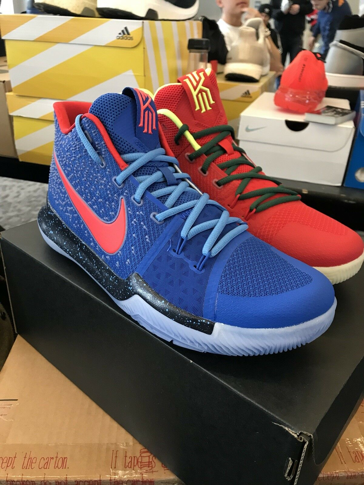 Nike Kyrie 3  What The   1of1 Custom Size 12 What The Kobe 8 Brand New