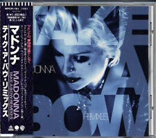 MADONNA Take A Bow Remixies JAPAN Single CD 8 Tracks 1995 W/Obi WPCR191 RARE!
