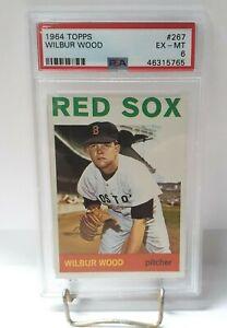 1964-Topps-Wilbur-Wood-267-PSA-6