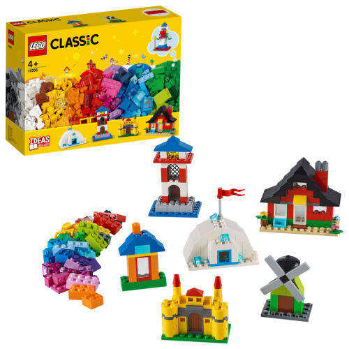 11008 LEGO Classic Bricks and Houses 270 Pieces Age 4 Years+
