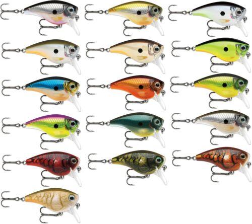 Rapala BX Big Brat Square Bill Crankbait 2 3//4 inch Bass Fishing Crankbait Lure