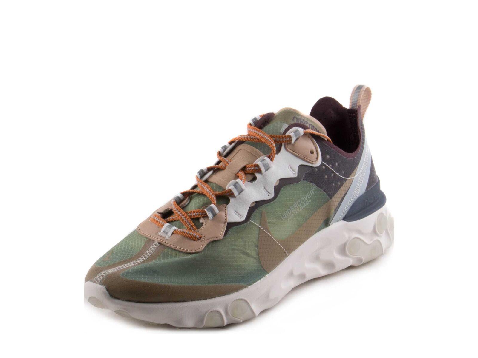 Nike Mist/Linen-Summit Uomo React Element 87 X Undercover verde Mist/Linen-Summit Nike bianca BQ2718-300 e49b7b