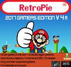 US SELLER - 32GB - new V4 CUSTOM GAMERS EDITION Retropie download +110PS1 game