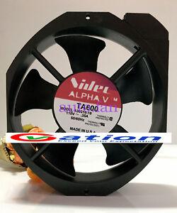 For-Nidec-AC-TA600-A30318-10-17CM-115V-0-35A-cooling-fan