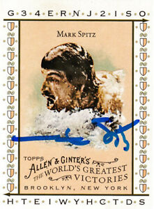 Mark-Spitz-Olympic-Swimmer-7-Gold-Medals-SIGNED-CARD-TOPPS