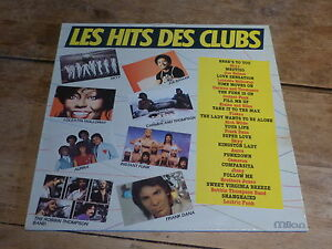 LE-HIT-DES-CLUBS-DISCO-DANCE-FRENCH-PRESSING-VINYLE-33T