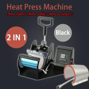 Digital-Display-Heat-Press-Transfer-Sublimation-Machine-for-DIY-Mug-Coffee-Cup
