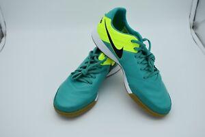 3e7be2694 Nike Tiempo Mystic V Men s IC Indoor Soccer Shoes Jade Volt 819222 ...