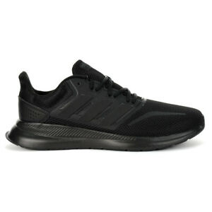 Adidas Essentials Men's Runfalcon Core Black Shoes G28970 NEW